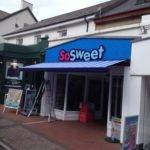 awning on sweet shop