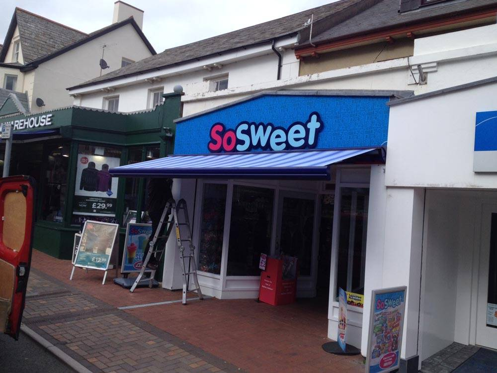 Commercial Awnings in Cornwall | Weinor | Country Blinds ...