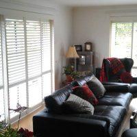 shutters in living room
