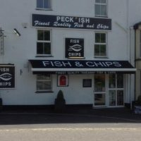 fish and chip shop awning