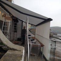full awning installed