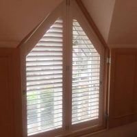 Shutters installed